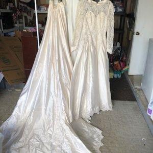 Wedding Dress Oleg Cassini Ivory